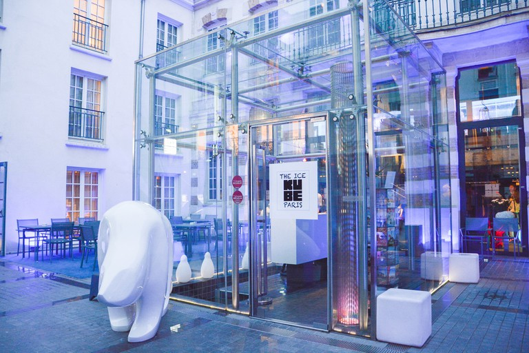 The entrace to the Kube Hotel Paris │ Courtesy of Kube Hotel Paris