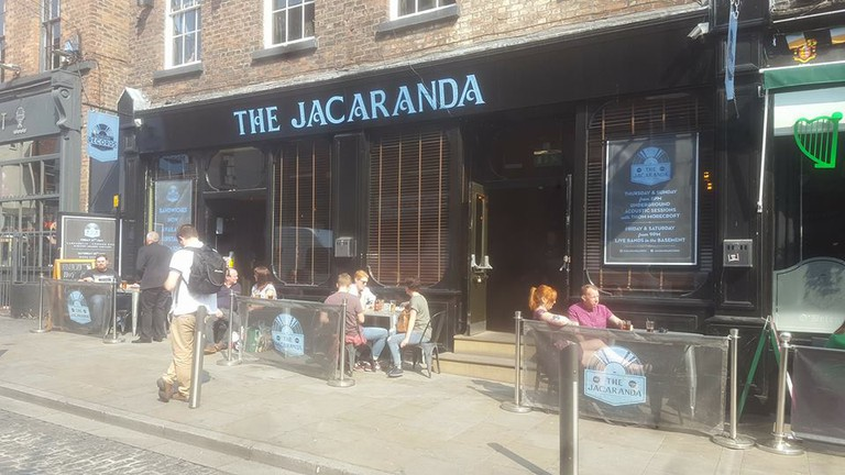 The Jacaranda bar
