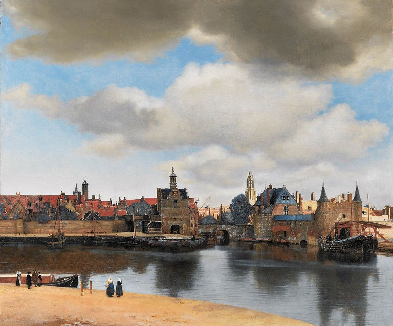 Vermeer, View of Delft | © Creative Commons