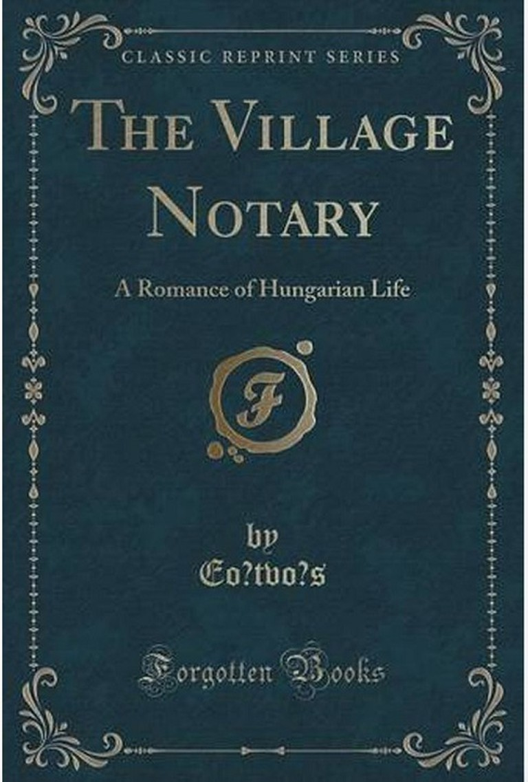 The Village Notary / Courtesy of Forgotten Books