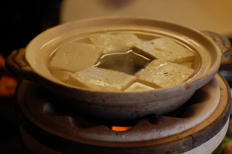 Yudofu (Simmered Tofu)