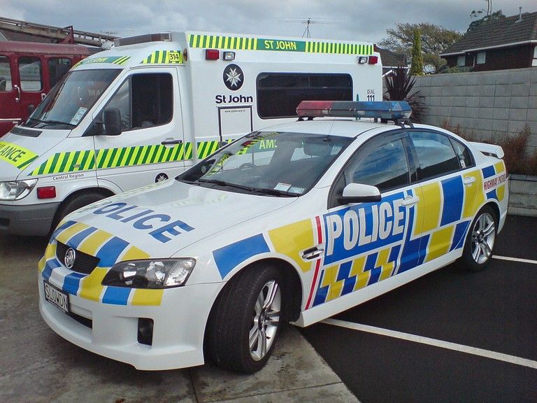 New Zealand Police and Ambulance