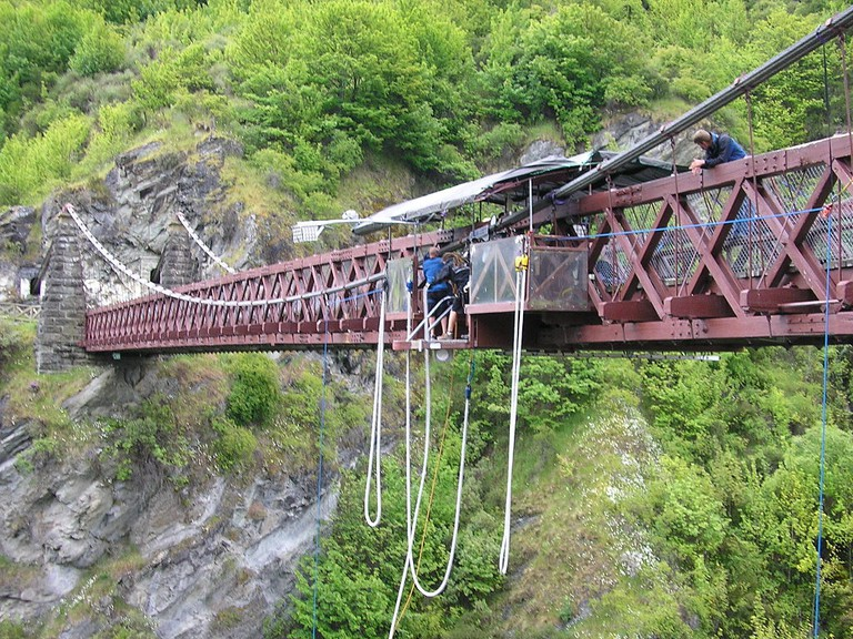 Kawarau Bridge Bungy Site