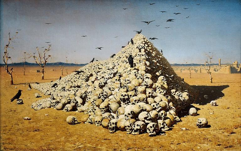 The Apotheosis of War | © Vasily Vasilyevich Vereshchagin/ Wikimedia Commons