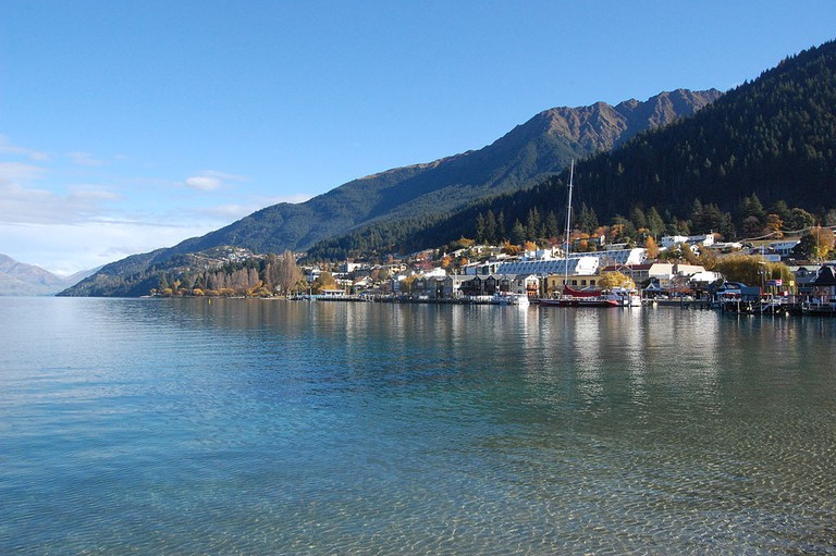 View of Lake Wakatipu from Queenstown Bay