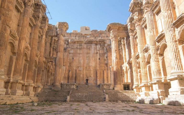 Baalbek, Ruins