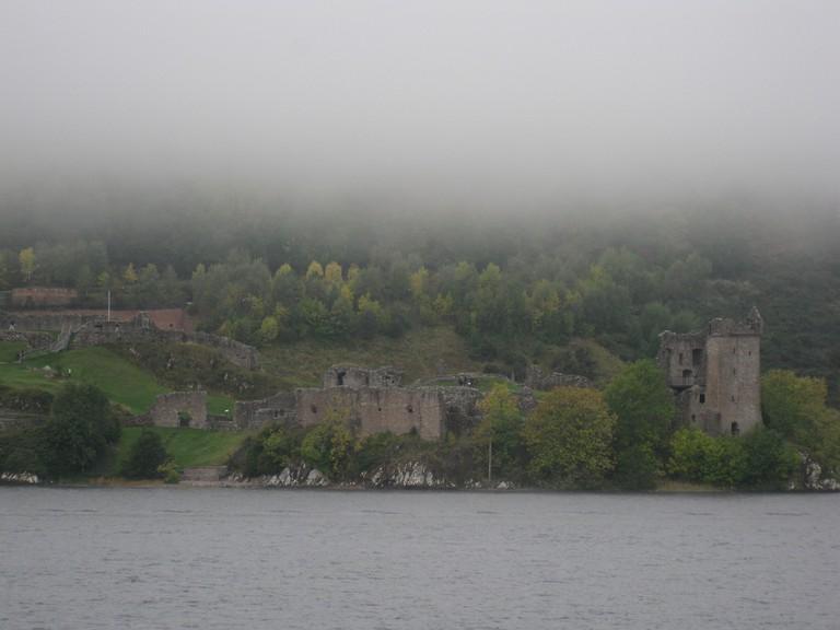 Misty Urquhart Castle