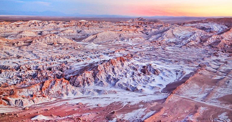 Moon Valley in northern Chile