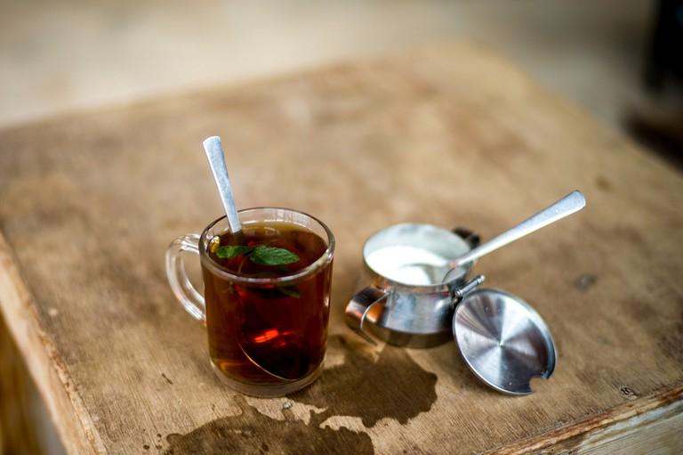 Bedouin Mint Tea, Petra, Jordan