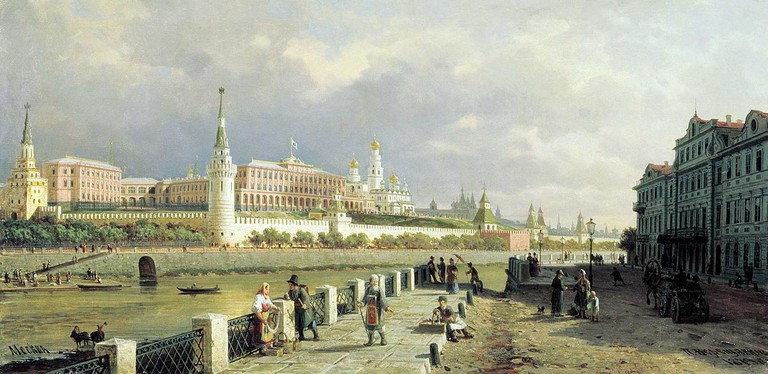 The Kremlin used to be white