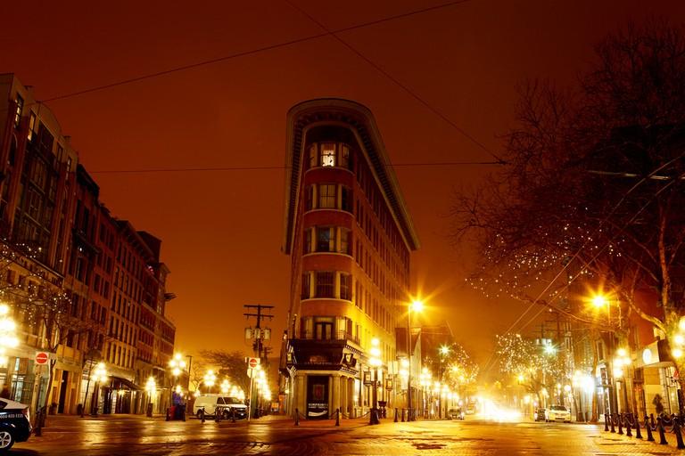 Gastown's Flatiron Building