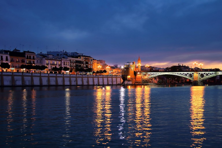 Sunset over the Río Guadalquivir
