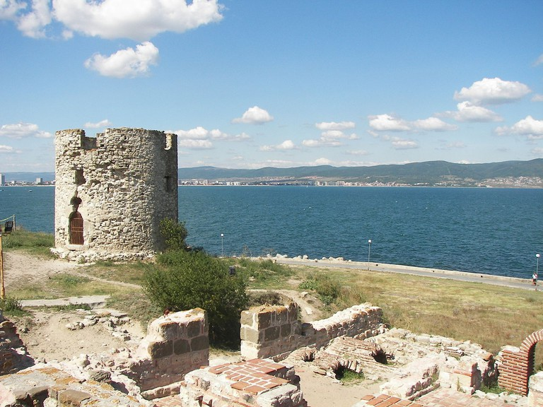 Remains of the fortress in Nessebar