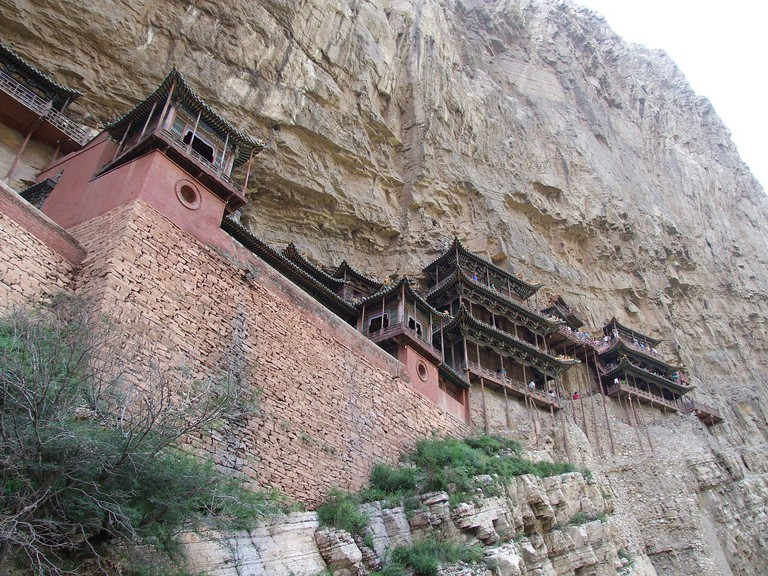 The Hanging Monastery in Datong