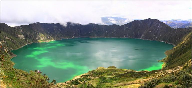 Quilotoa Lagoon   © CeciliaHeinen / Flickr