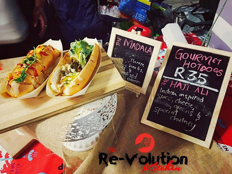 The Revolution Kitchen at a market in Durban