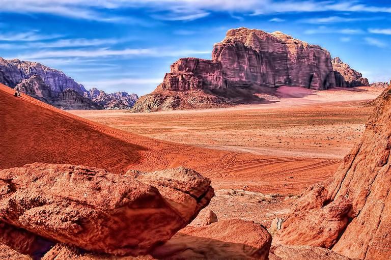 Wadi Rum, Jordan © Oliver Clarke