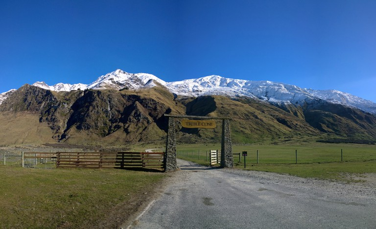 Treble Cone Entrance