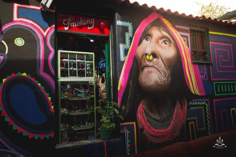 Graffiti on the Streets of Bogotá