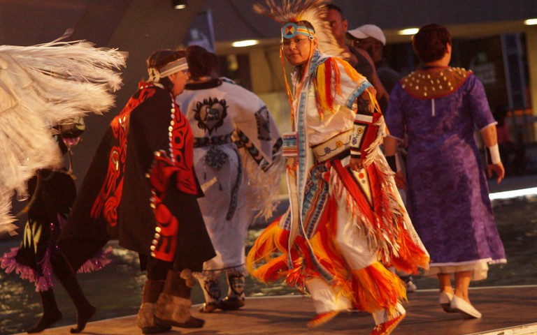 First Nations cultural performance