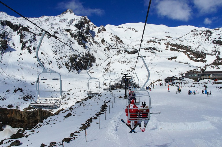 Whakapapa Ski Resort, Tongariro