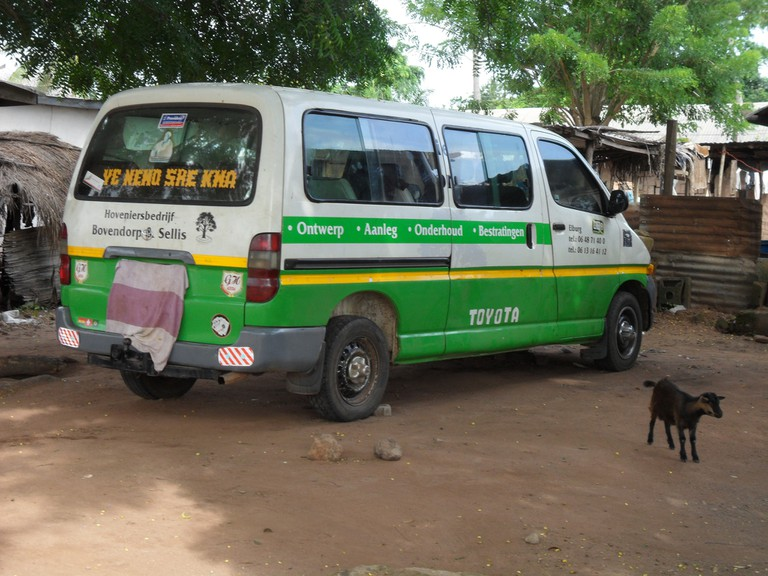 Ghanaian tro tro