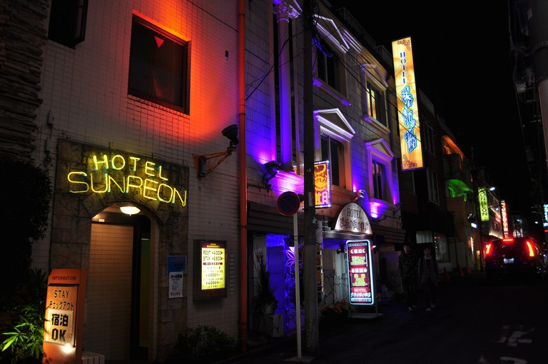 Shibuya – Hotel Sunreon (love hotel)