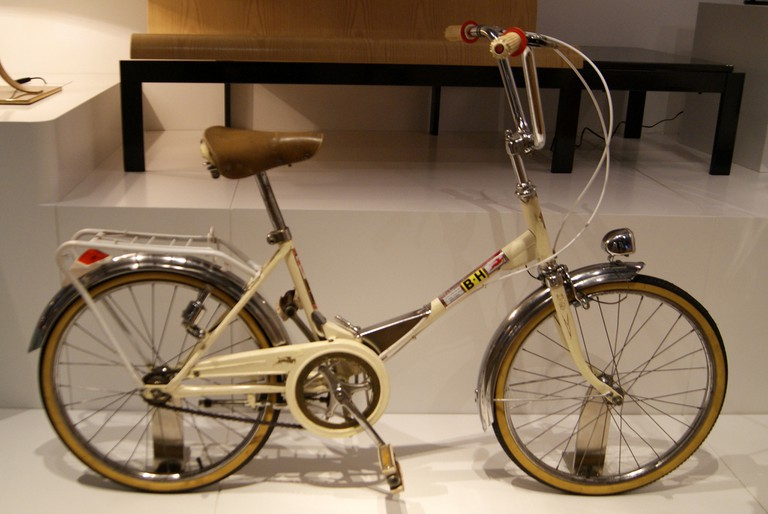 A BH bicycle on display at the museum © Teresa Grau Ros