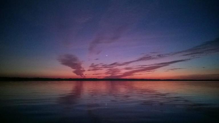 Sunset over Holbox | © descubriendoelmundo/Flickr