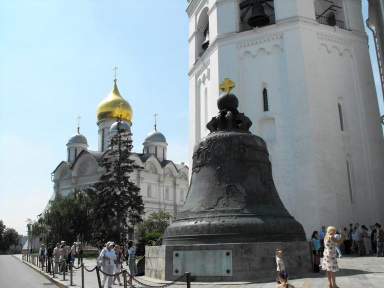 Tsar Bell, Kremlin, Moscow