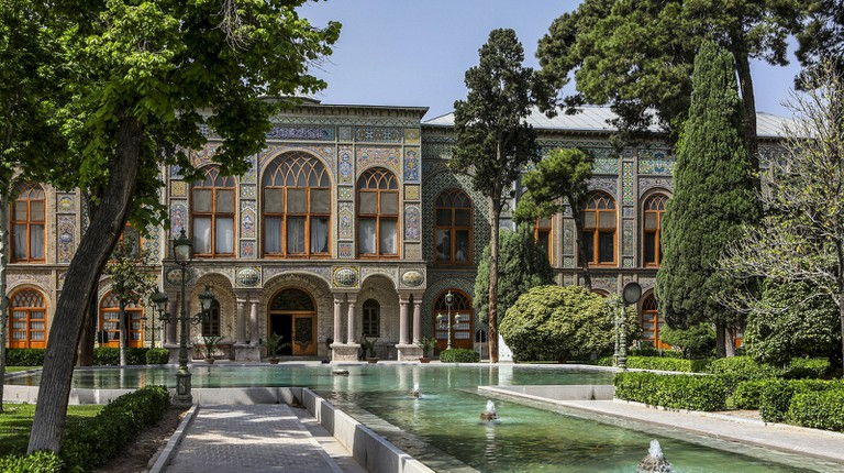 The lavish Golestan Palace is from the Qajar era | © Ninara / Flickr