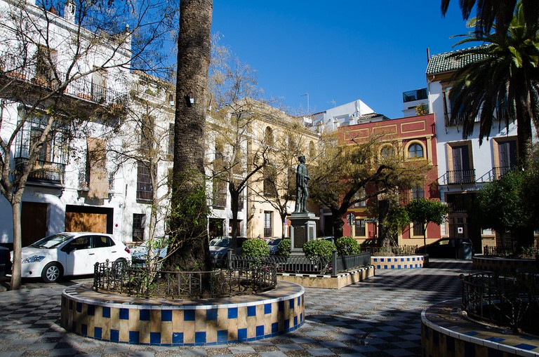 Seville's old Jewish quarter is best explored on foot
