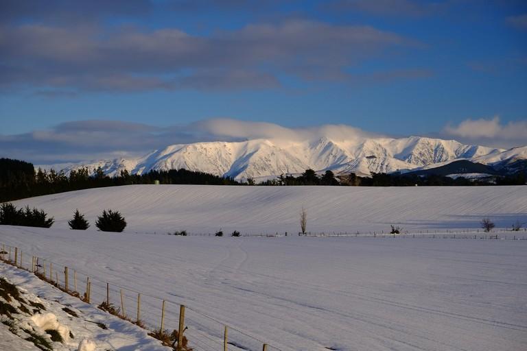 Mt Hutt Range