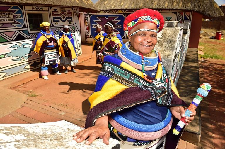 Ndebele women in Mpumalanga
