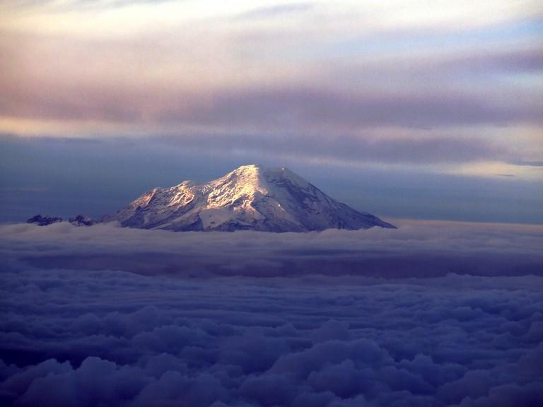The Chimborazo Volcano