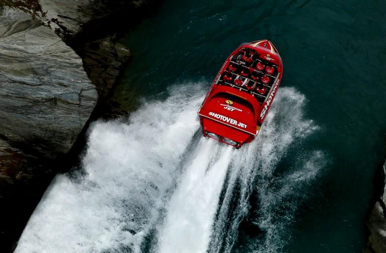Shotover Jet Boat   © Bernard Spragg/Flickr