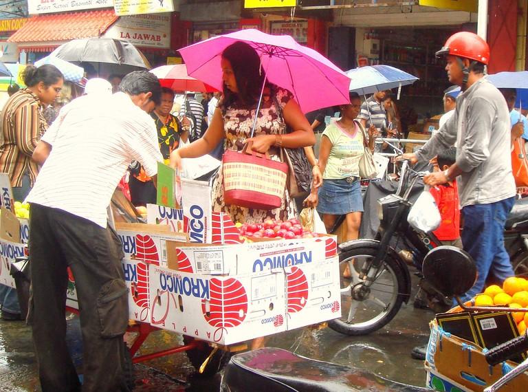 Shopping with tante bazaar