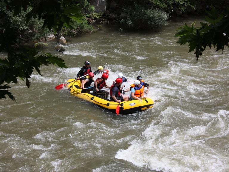 Rafting in Struma River
