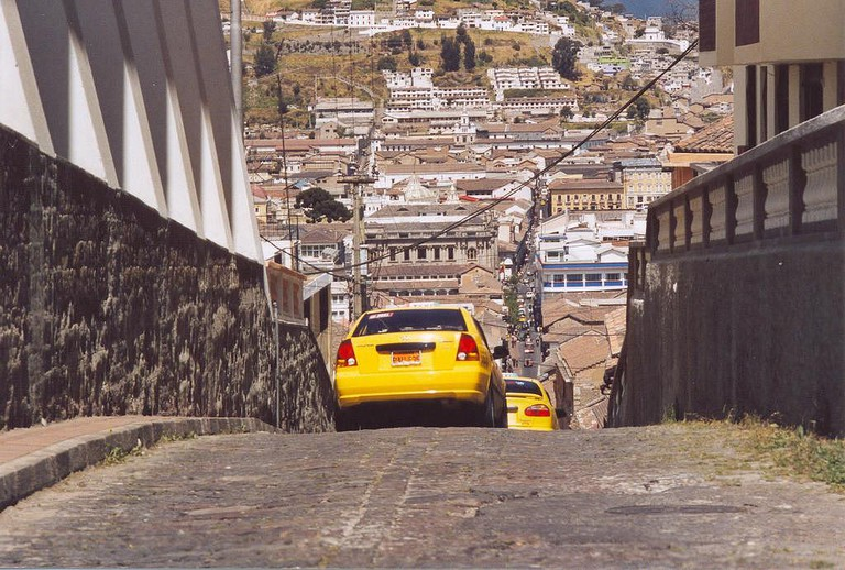 Take care when using taxis in Quito