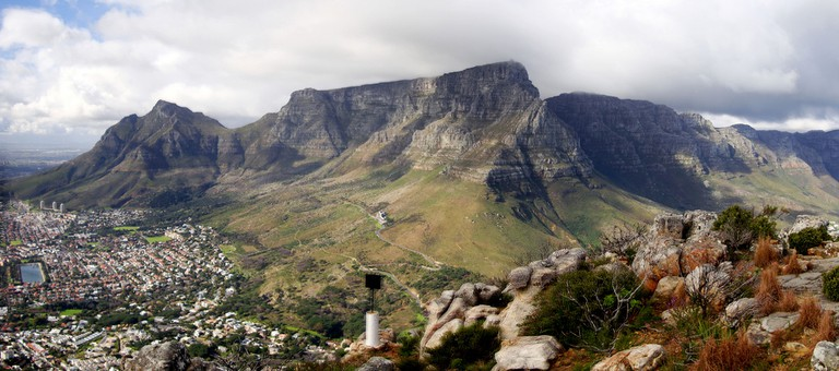 Table Mountain forms part of a national park
