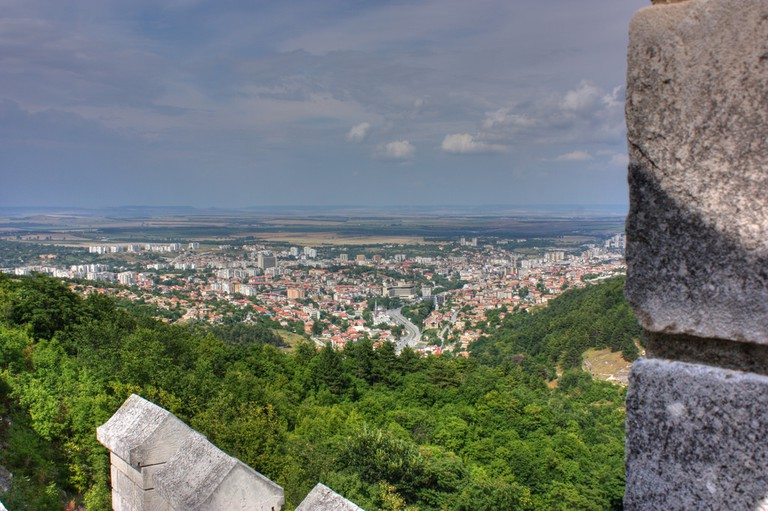 View of Shumen from the Shumen Fortress