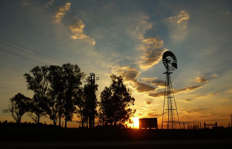 Windmill in Uruguay