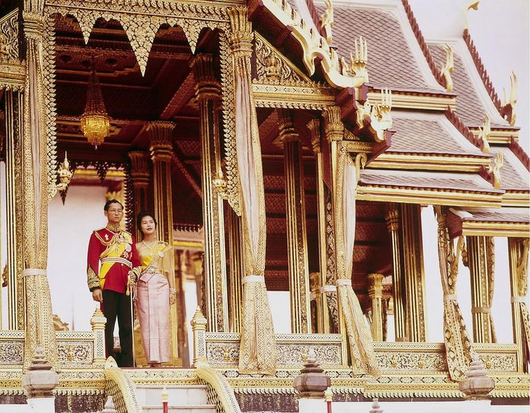 1960 Bangkok 1960 – Thai King & Queen by John Dominis