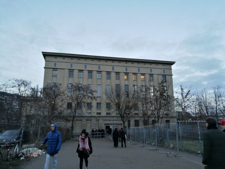 Berghain in Berlin's central clubbing institution