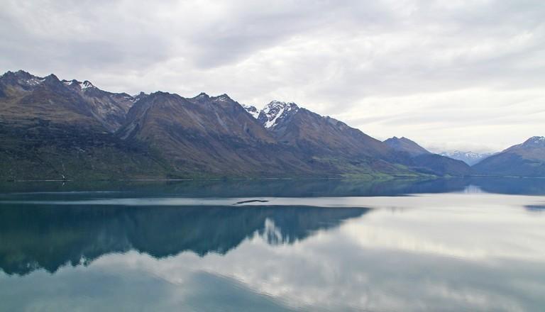Lake Wakatipu on the Way to Glenorchy