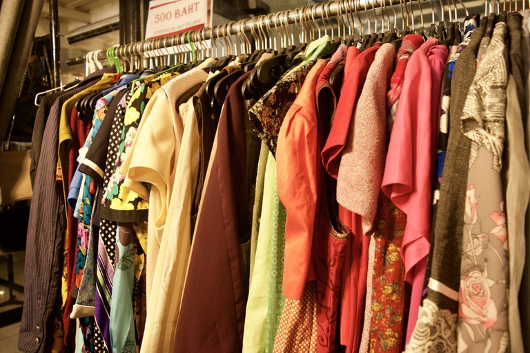 Clothes for sale at Thonglor Art Village