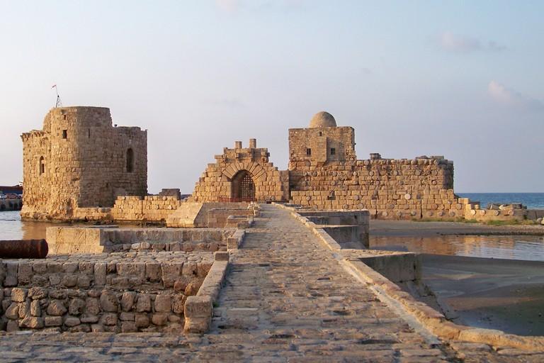 Crusader Sea Castle, Sidon