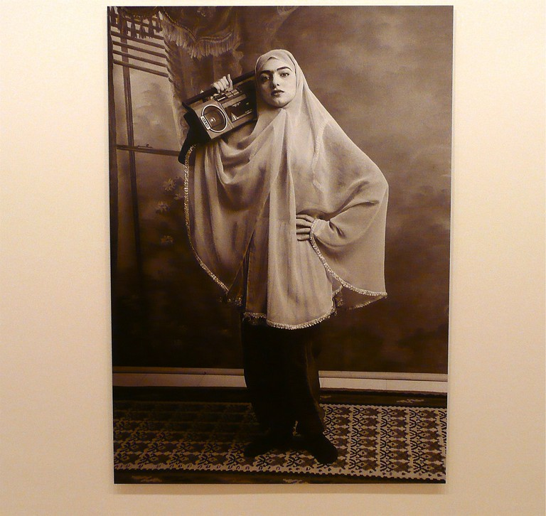 From Shadi Ghadirian's Qajar series at the Saatchi Gallery | © Herry Lawford / Flickr