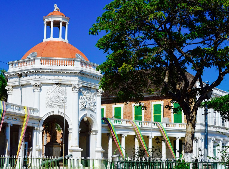 Rodney Memorial, Spanish Town, Jamaica