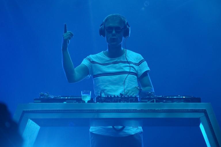 Armin Van Buuren performing in Kiev, Ukraine